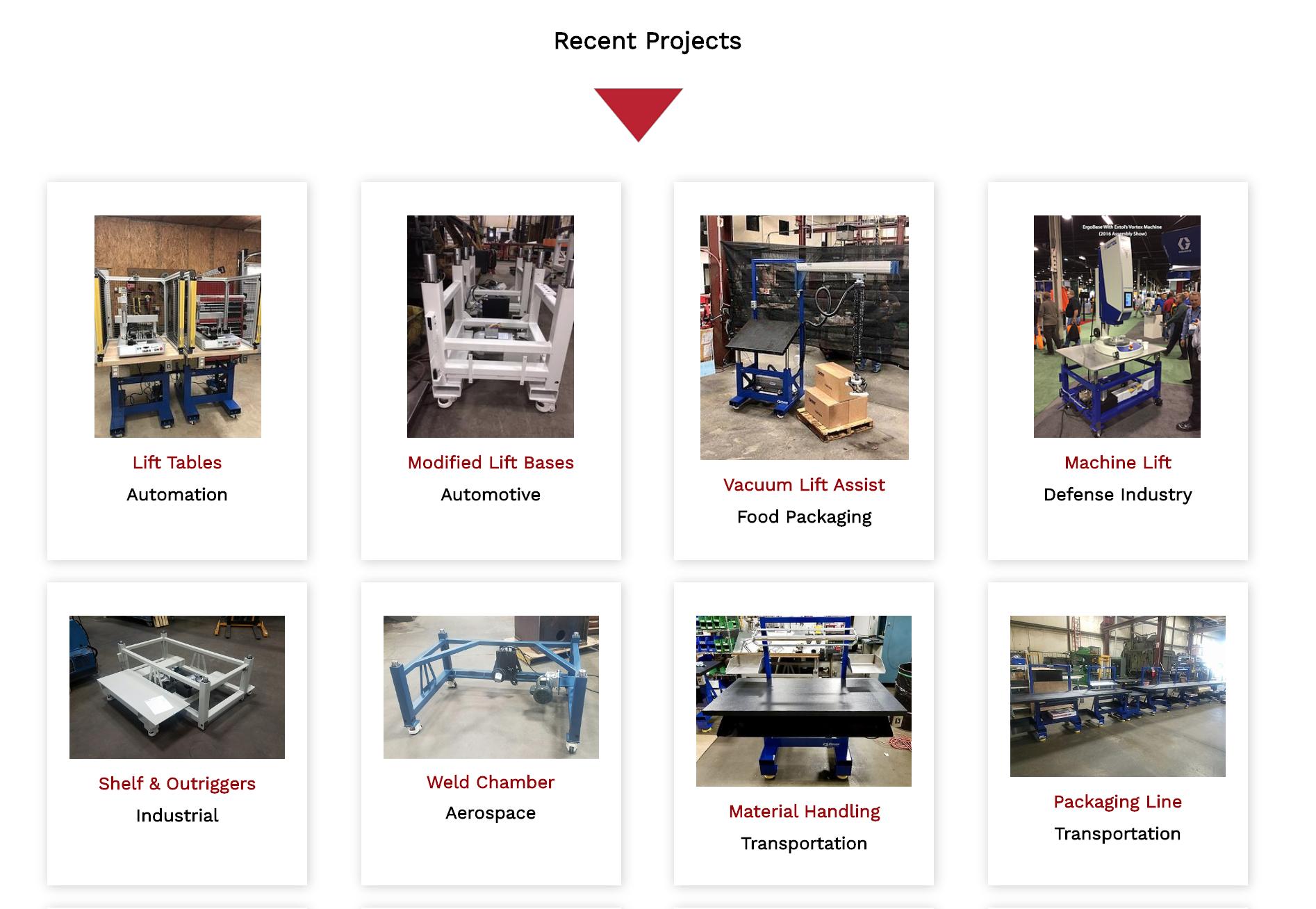 Website Ergo Projects